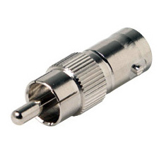 RCA Male to 50 Ohm BNC Female Video Adapter                                                                              200-170