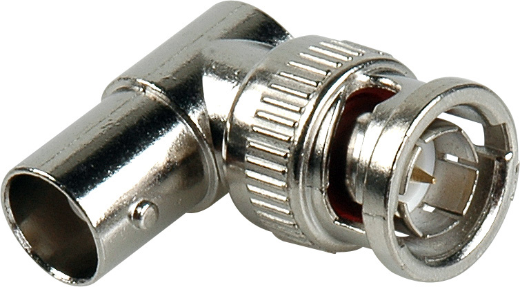 75 Ohm BNC Female to Male Right Angle Adapter 28-81507