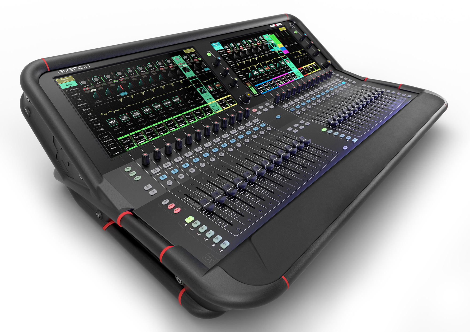 Allen & Heath AH-AVANTIS 96kHz 64 Channel Digital Mixer - 42 Bus - Dual Full HD Touchscreens AH-AVANTIS