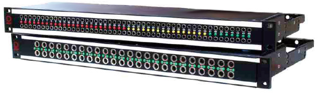 AVPJackfield/2x24/Longframe/24 Half Normal Switching Ground Modules (2