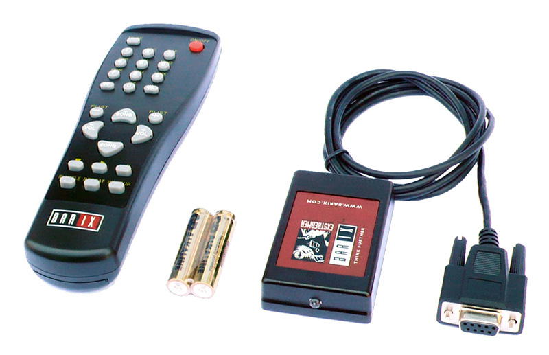 Barix 2003.9017 IR Remote Control Kit for Exstreamer Products 2003.9017