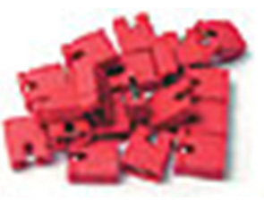 Bittree 382811-9 Audio Programming Shunts (Red Normalling)