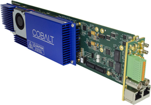 Cobalt Digital 9992-DEC-4K-HEVC 4K/AVC/MPEG-2 Software Defined Broadcast Decoder with Single-Channel 4K/Dual-Channel 2K 9992-DEC-4K-HEVC