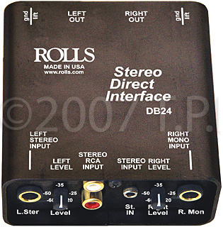 Rolls DB24 Stereo Direct Interface DB24