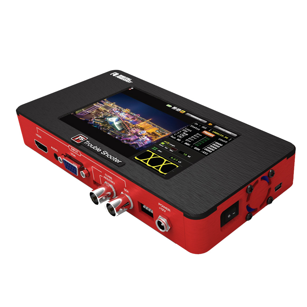 Digital Forecast Bridge X-TS Troubleshooter Multi Platform A/V Signal Converter - SDI/HDMI/VGA/RGB/AES Analyzer X-TS