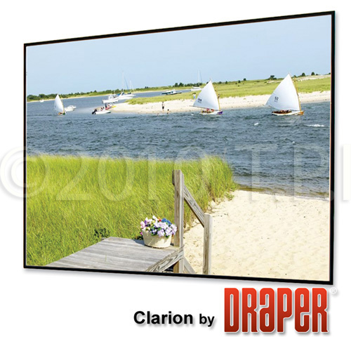 Draper 252016 45x80 Inch 16:9 HDTV Format M1300 Clarion Screen