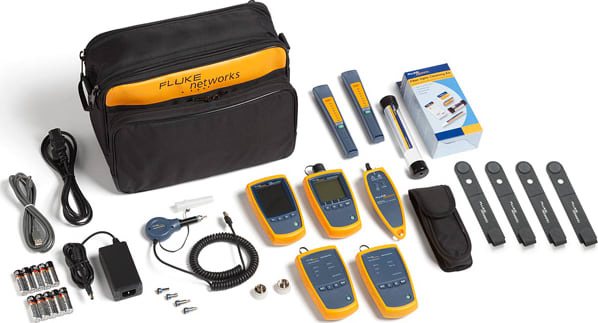 Fluke FTK1475 FI-500 Micro/VisiFault VFL - Fiber Optic Inspector Test Kit FTK1475