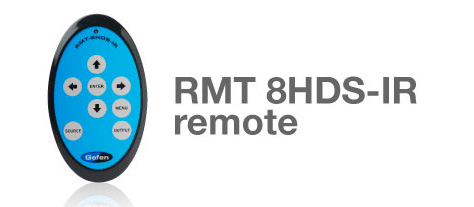 Gefen RMT-8HDS-IRN IR Remote Control for HD-/3G-SDI Converter and/or Scaler devices