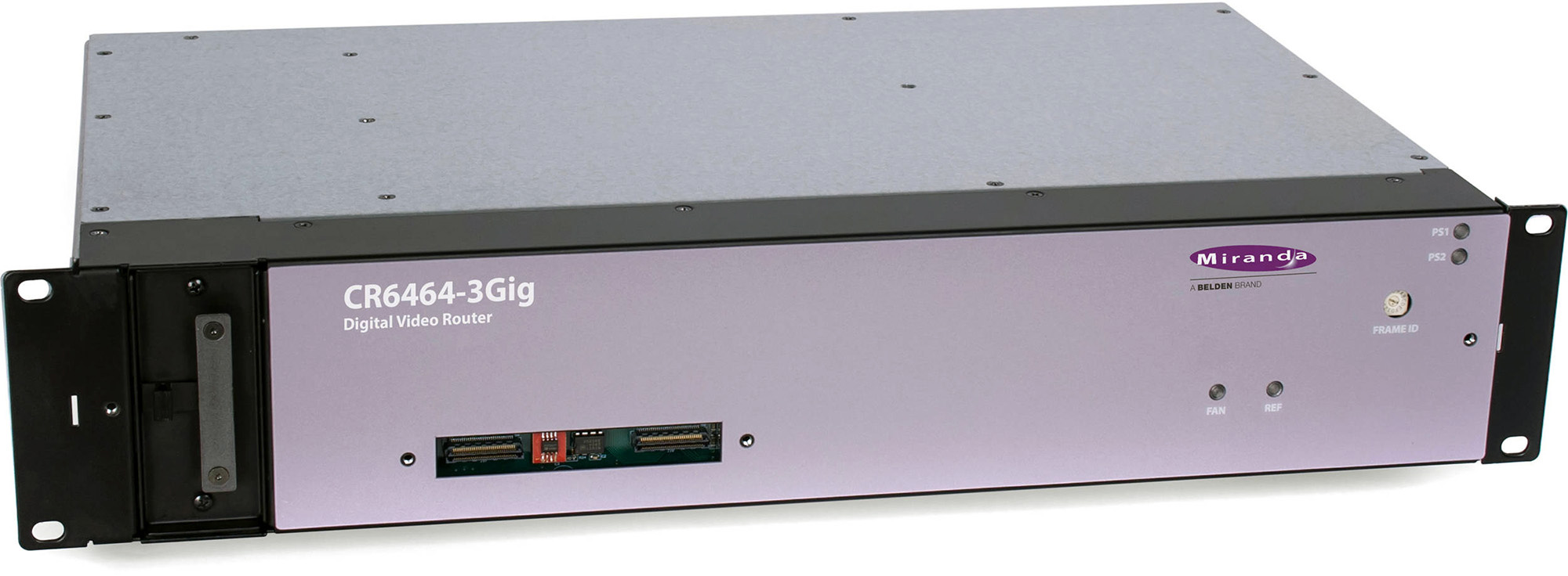 Grass Valley CR6464-3GIG 64x64 3Gb/ss HD Serial Digital Video Router - 2RU CR6464-3GIG