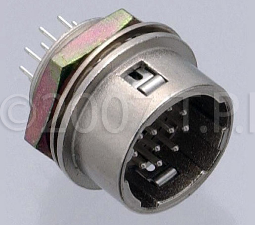 Hirose HR10A7R4P Male Connector HR10A7R4P