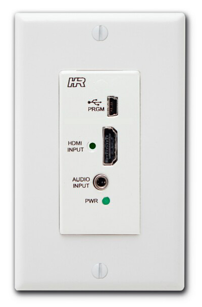 Hall Research VSA-HA-DP HDMI Input Wall Plate for VSA Series w/Audio E