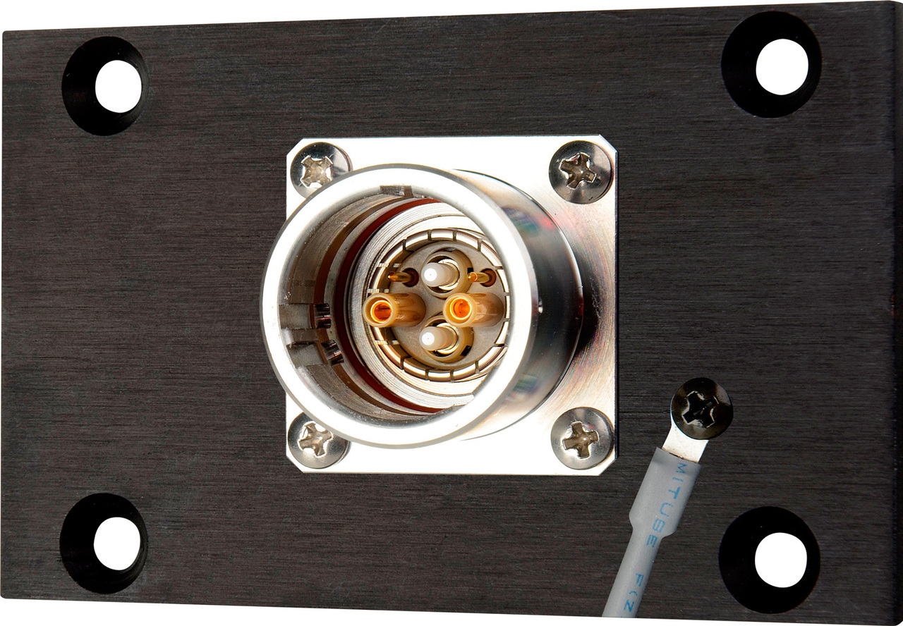 Camplex SMPTE EDW Jack to 2 ST Fiber & 6-Pin AMP for 1RU HYMOD Systems