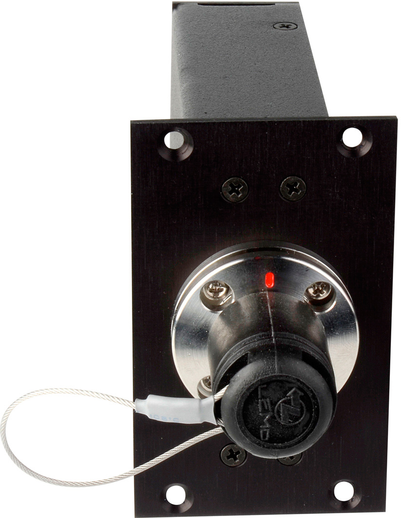 Camplex SMPTE FXW Plug to 2 ST Fiber & 6-Pin AMP for 2RU HYMOD Systems