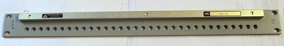 Insulated Patch Panel JSI-32A