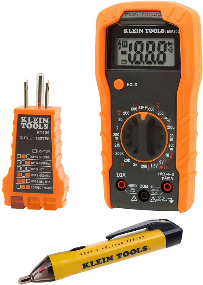 Klein Tools 69149 Electrical Test Kit 69149