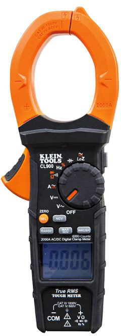 Klein Tools CL900 2000A AC/DC Digital Clamp Meter  CL900
