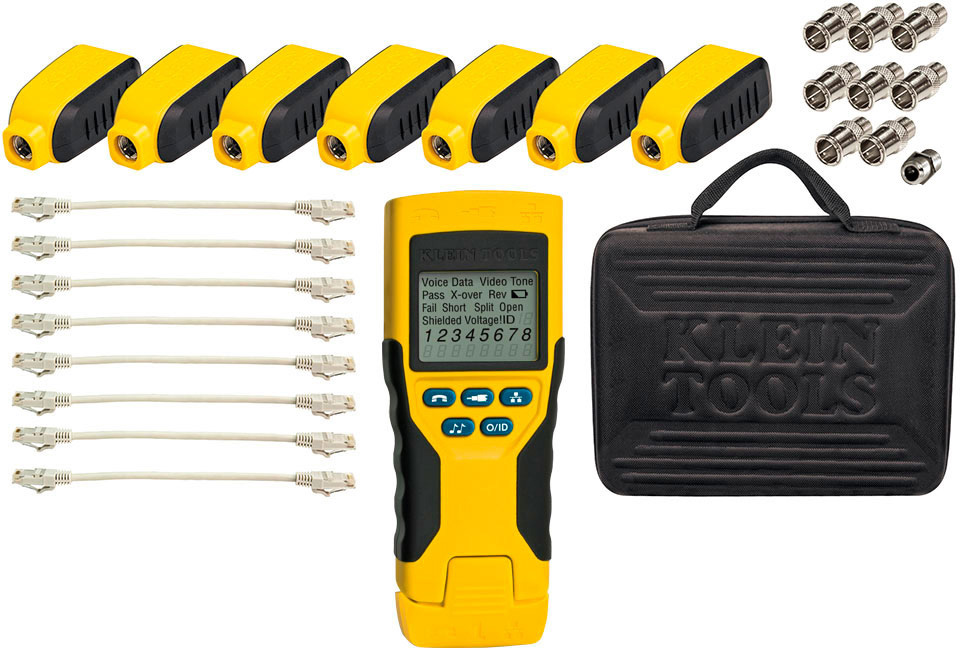 Klein Tools VDV501-824 Scout Pro 2 Tester with Test-n-Map Remote Kit VDV501-824