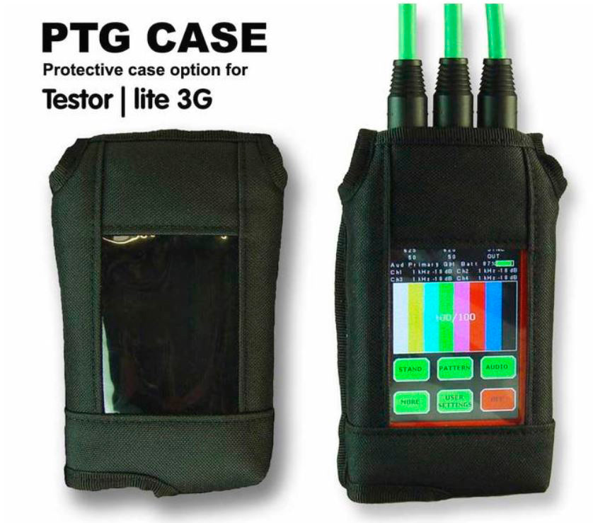 LYNX PTG CASE Belt Case with Clip for Testor Lite 3G PTG-CASE