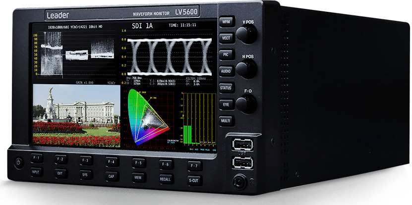 Leader LV5600 Waveform Monitor - Mainframe Only