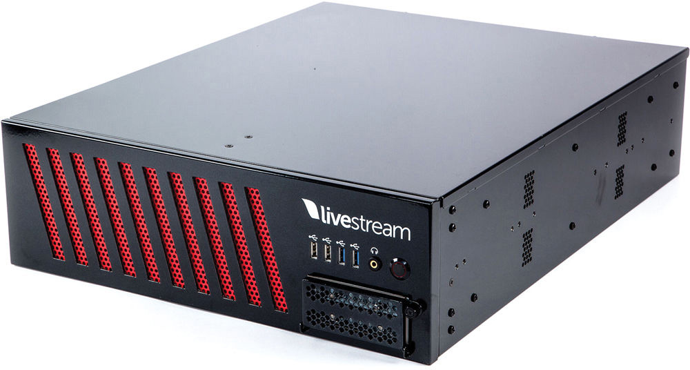 Livestream Studio LS-HD1710-S8I/S8O/H1O/N25I/N5O Video Switcher 8 x HDSDI plus 25 x NDI in 8 x HDSDI plus 5 x NDI out LS-HD1710-S8I/S8O/H1O/N25I/N5O