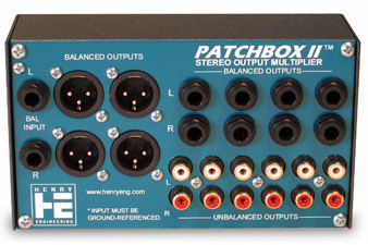 Henry Engineering PatchBox II Stereo Output Multiplier PATCHBOX