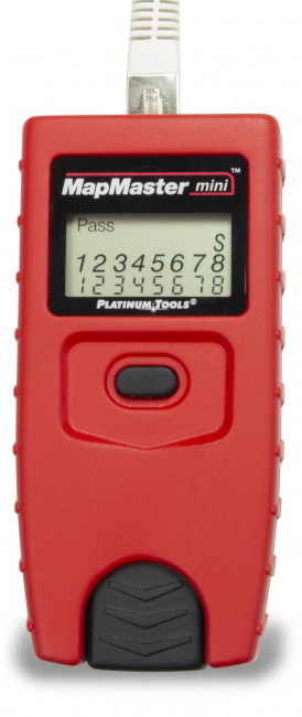 Platinum Tools T109C MapMaster-Mini Pocket UTP/STP Cable Tester T109C