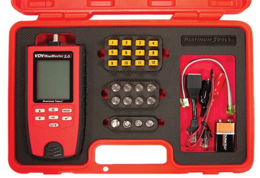 Platinum Tools T130K5 Platinum Tools T130K5 VDV MapMaster 3.0 Network & Coax Field Test Kit T130K5