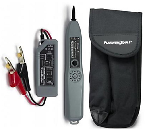 Platinum Tools TG220K1 Professional Tone and Probe Kit - ABN Clips with Belt Pouch  TG220K1