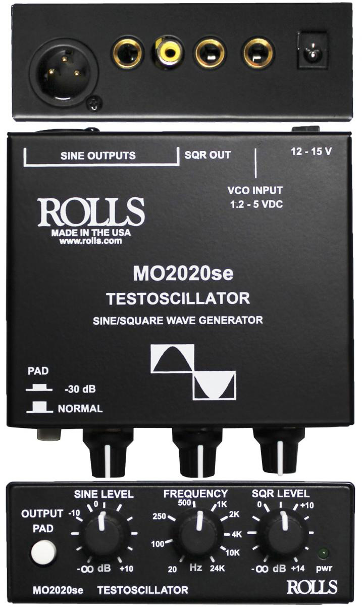 Rolls MO2020se Signal Generator for Electronic Testing in the Audio Frequency Range 20Hz to 24kHz  MO2020SE