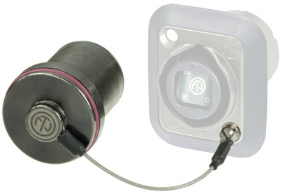 Neutrik SCNO-FDW-A Protection Cover for D-series opticalCON Receptacle
