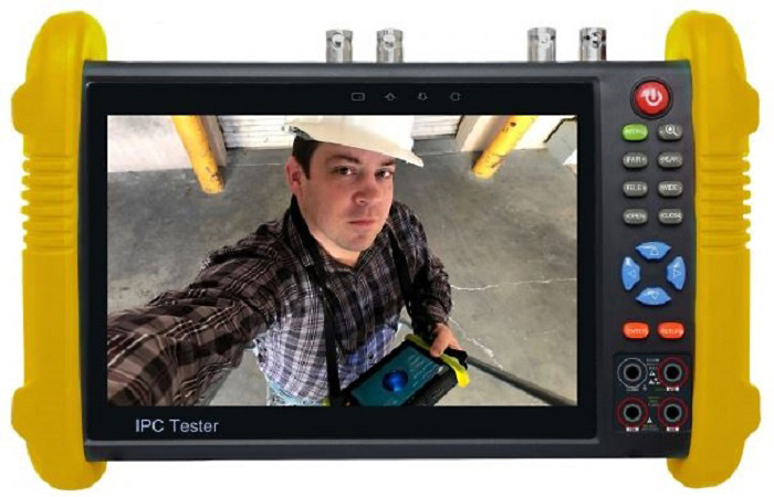 Securitytronix ST-ALLIN1-TEST2 7 Inch Touch Screen IP Camera Monitor and Tester ST-ALLIN1-TEST2