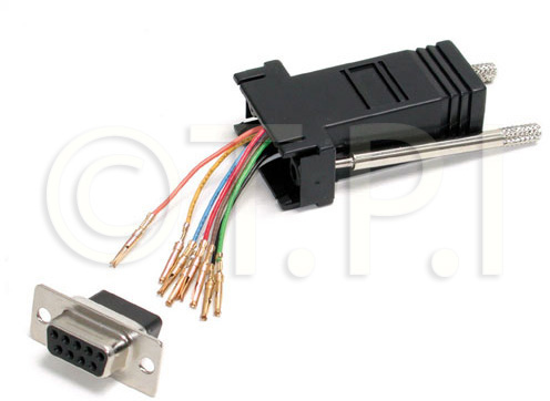 Startech GC98FF DB9 to RJ45 Modular Adapter F/F ST-GC98FF