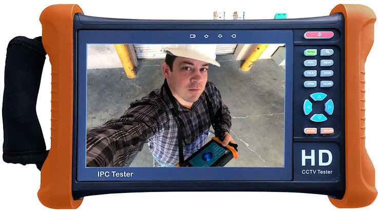 Securitytronix ST-IP-TEST2 7 Inch Touch Screen IP Camera Monitor and Tester ST-IP-TEST2