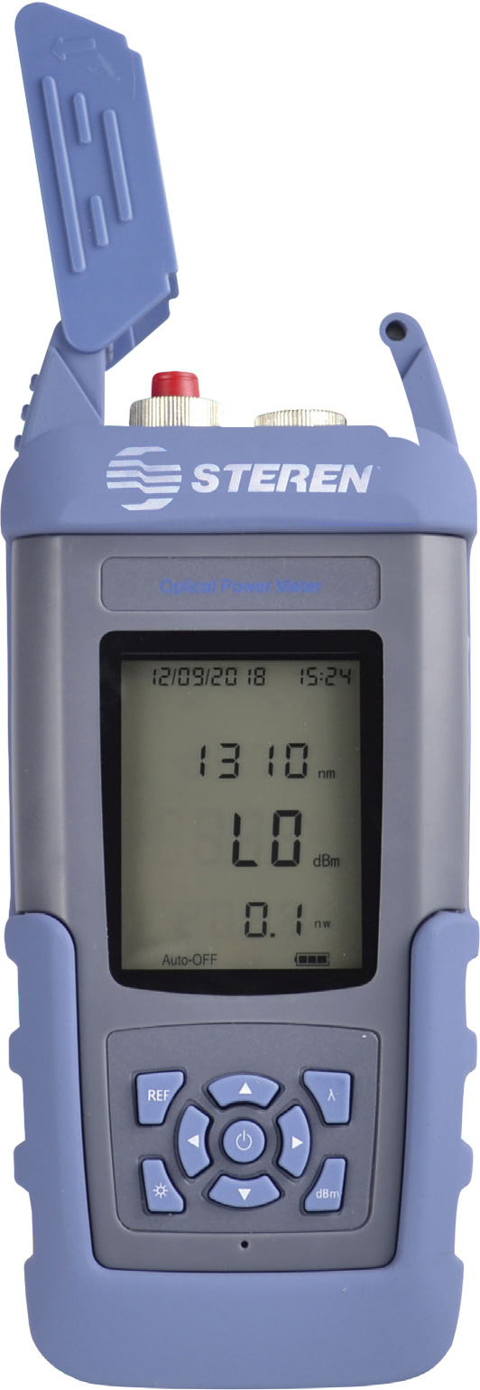 Steren BL-526-108 Optical Power Meter - 800-1700nm Wavelength Range BL-526-108