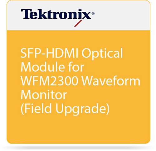 Tektronix WFM2200A SFP-HDMI Input Module for WFM2200A Waveform Monitor Pre-Purchase Internal Option WFM220AUP SFP-HDMI