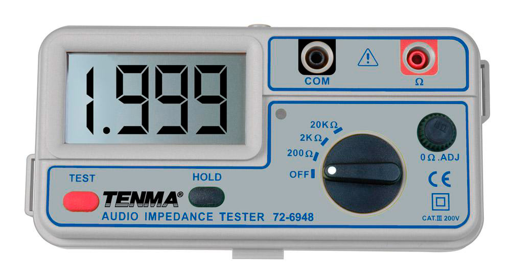 Tenma 72-6948 Audio Impedance Meter & Tester 72-6948