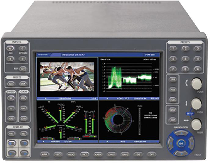Imagine TVM9150PKG-3G TVM Series Waveform Monitor Package - Supporting Four Picture Display with 3Gb/HD/SD-SDI inputs TVM9150PKG-3G