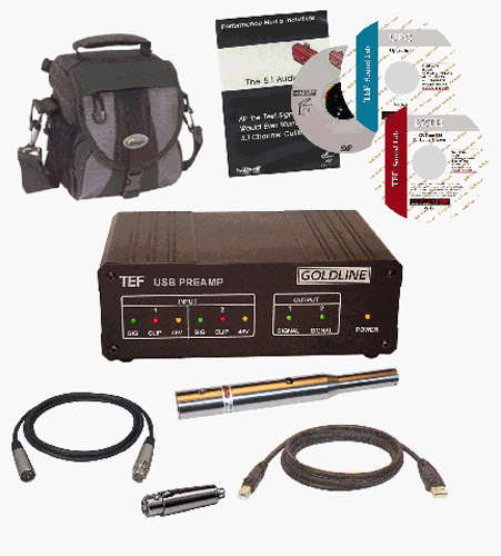 VL Design TEFPRO USB Based Pre Amplifier Kit with Mic for Acoustical Analysis VLD-TEFPRO