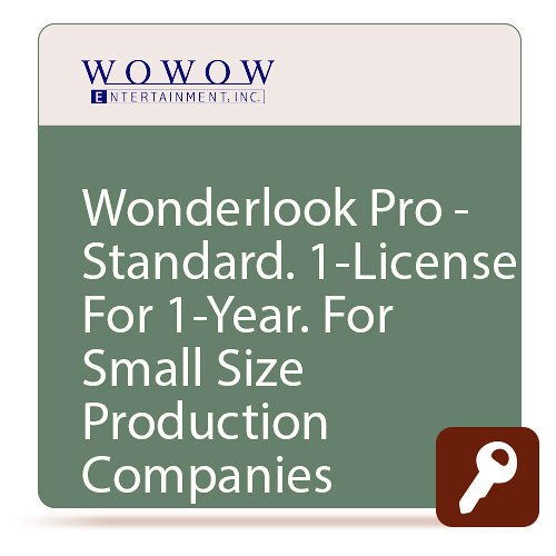 Wowow ISL-711 Wowow WonderLook Pro STANDARD One Year License - 5 Devices Unlimited Cameras WOW-ISL-711
