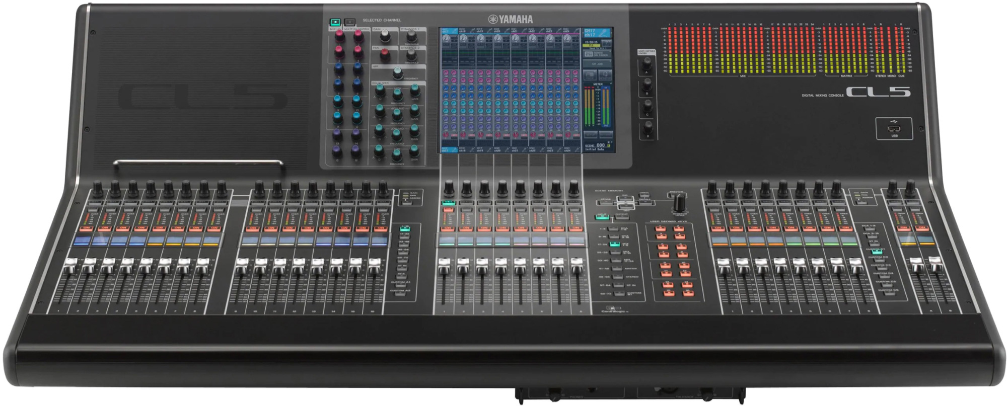 Yamaha CL5 72-Input Digital Audio Mixing Console CL5