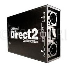 WHIRLWIND Direct 2 Direct Box DIRECT-2