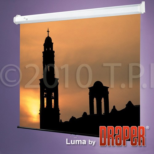 Draper 207010 69x92 Inch 4:3 NTSC Video Format Matt White Luma Screen