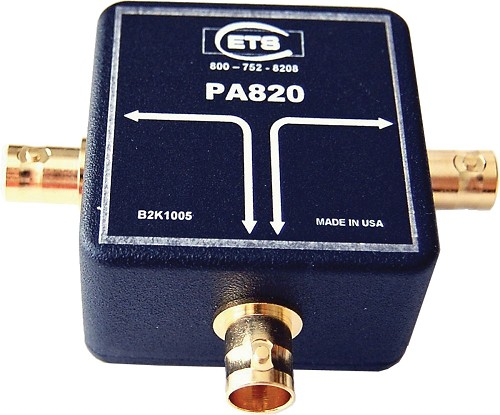 AES/EBU 75 Ohm Digital Audio Splitter with BNC Connectors ETS-PA820
