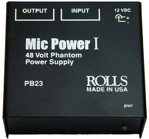 Rolls PB23 Phantom Power Adapter PB23