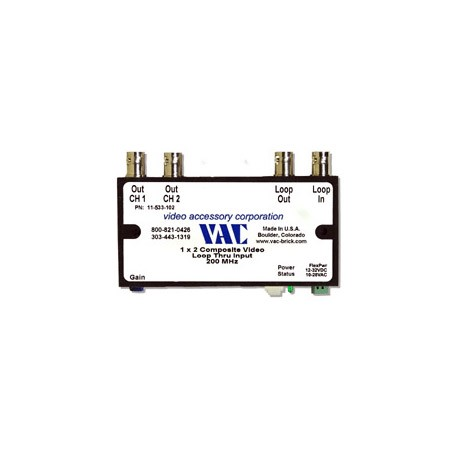 VAC 11-533-102 1x2 Composite Video DA 11-533-102